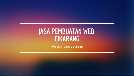 Jasa pembuatan web cikarang